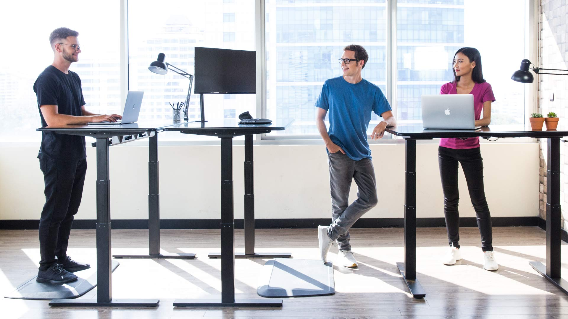 Innovations in stand desk technology