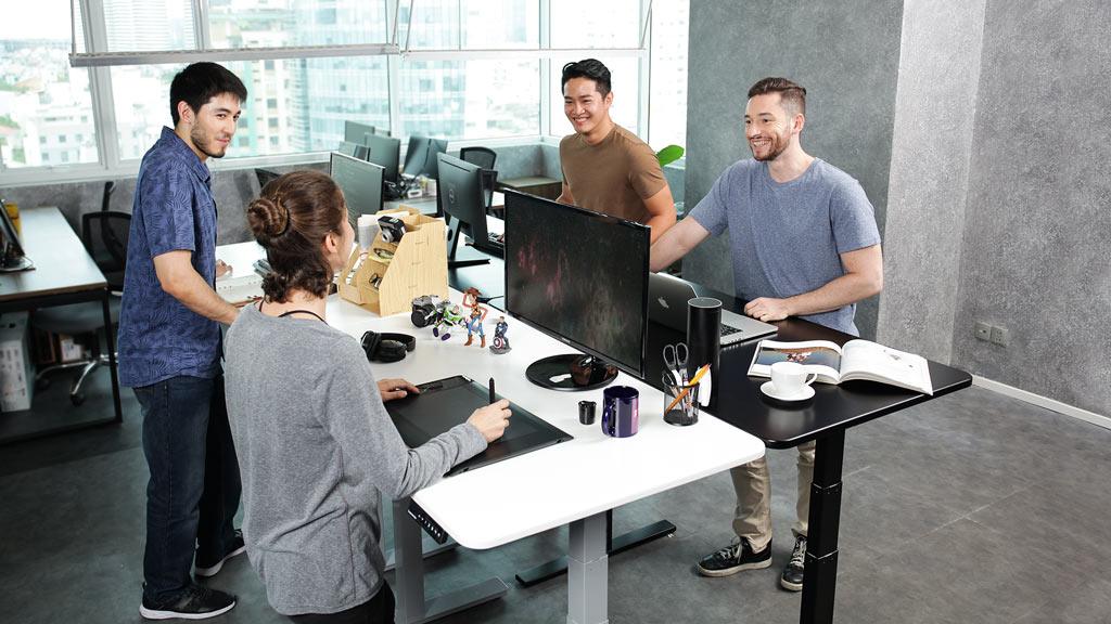 Smart desk - Standing desk